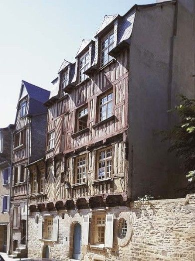 Maison de la rue Saint-Yves, Rennes - Ille et Vilaine