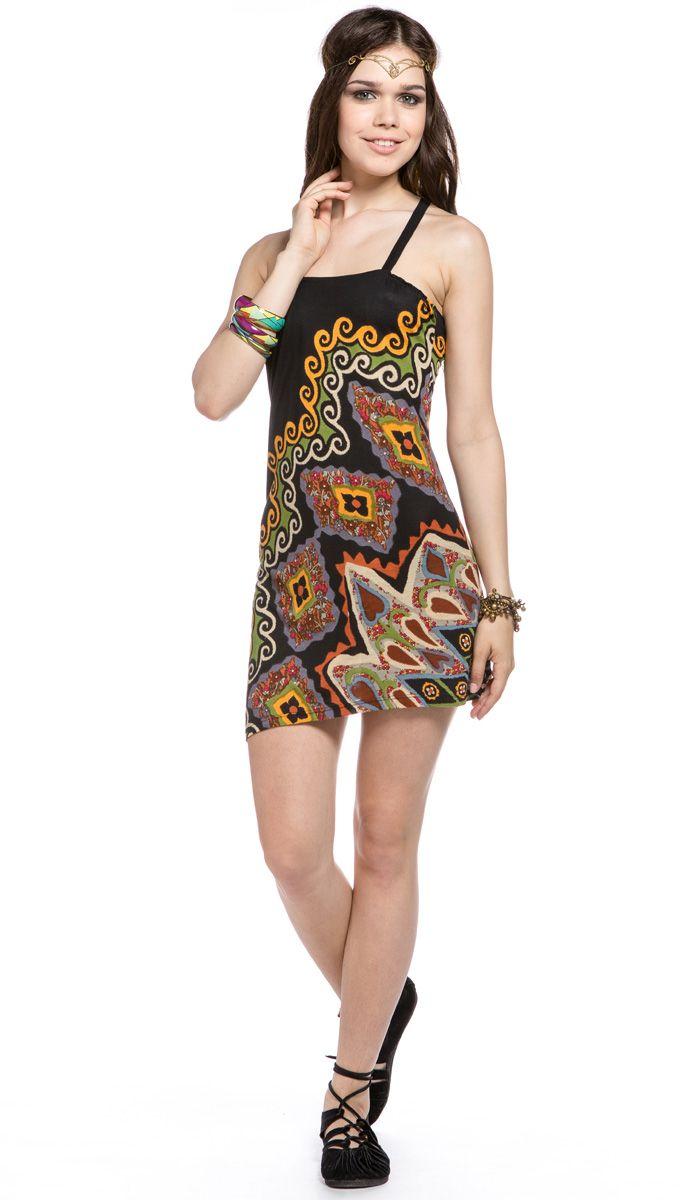 Летнее этническое платье, индийское, одежда из Индии, бохо, хиппи, summer dress ethnic, indian clothing from India, boho, hippie, bohemian. 1420 рублей