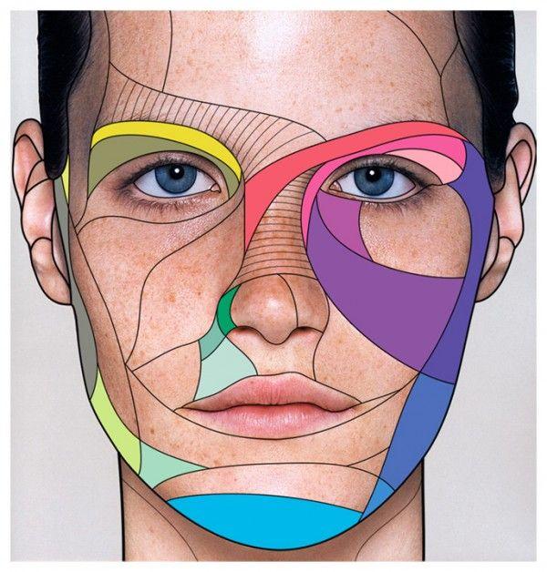 face + illustration