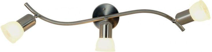 Three Light Vanity Bathroom Adjustable Lamp Brushed Nickel Lighting Fixture Use #Monument