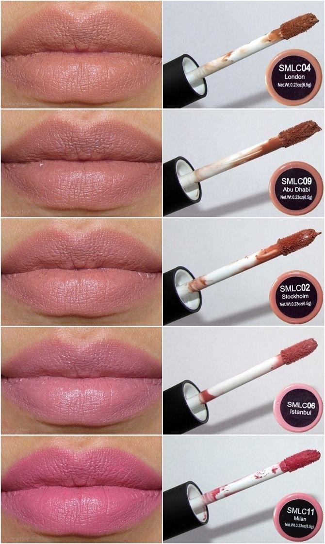 ]Swatches NYX Soft Matte Lip Cream➳ Pinterest: miabutler ♕