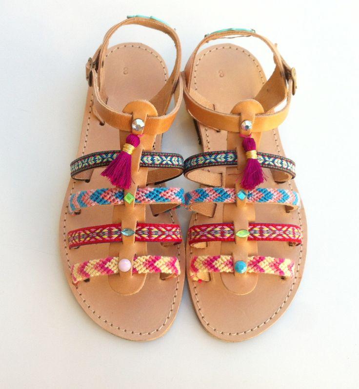 sandali di pelle sandali, Sandali donna, boho, sandali gladiatore di GrecianSandals su Etsy https://www.etsy.com/it/listing/270900797/sandali-di-pelle-sandali-sandali-donna