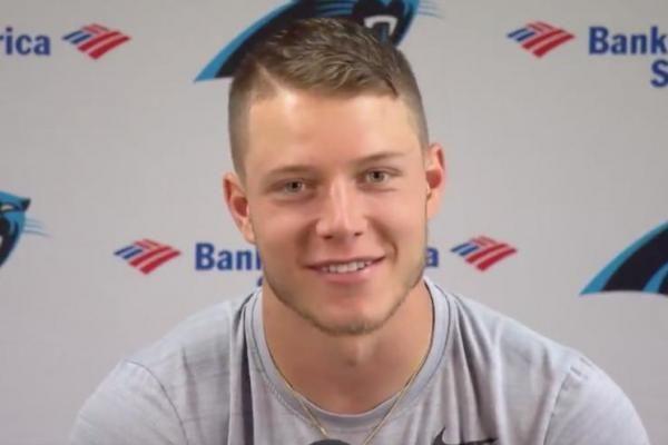 He might be a four-time All-Pro, but Carolina Panthers linebacker Luke Kuechly has no shot at guarding rookie Christian McCaffrey…