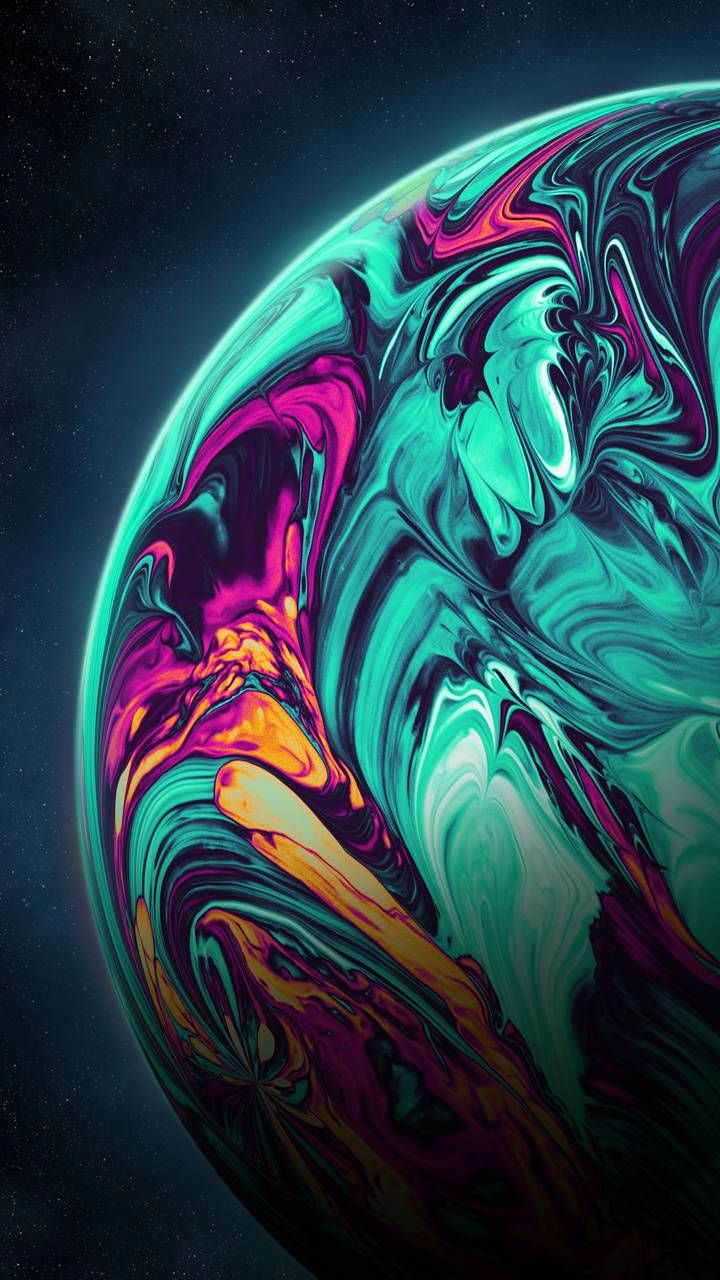 Acrylic Planet Wallpaper By Geoglyser 1a Free On Zedge In 2021 Abstract Iphone Wallpaper Iphone Wallpaper Landscape Iphone Lockscreen Wallpaper