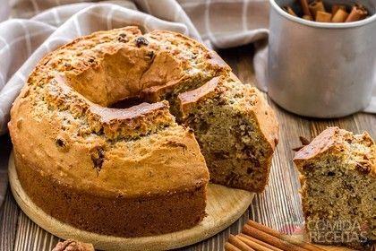 Receita de Bolo de nozes com passas e canela em receitas de bolos, veja essa e outras receitas aqui!