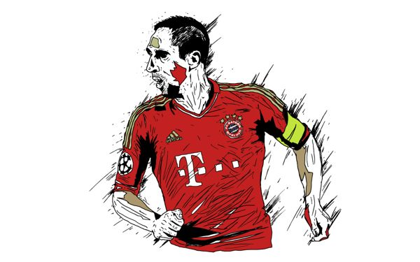 FOOTBALL MODERN LEGENDS by Kareem Gouda, via Behance