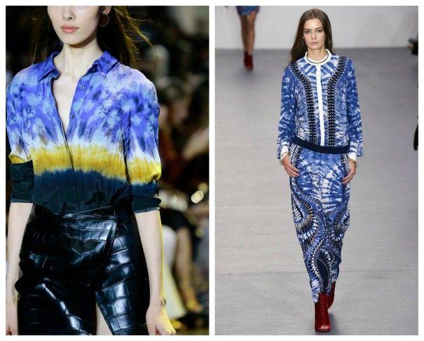 TIE E DYE Moda primavera estate 2016: la lista completa delle tendenze!