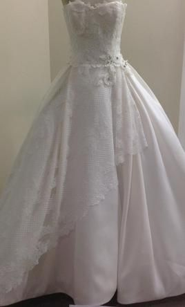 Edgardo Bonilla 1300- Aliza: buy this dress for a fraction of the salon price on PreOwnedWeddingDresses.com