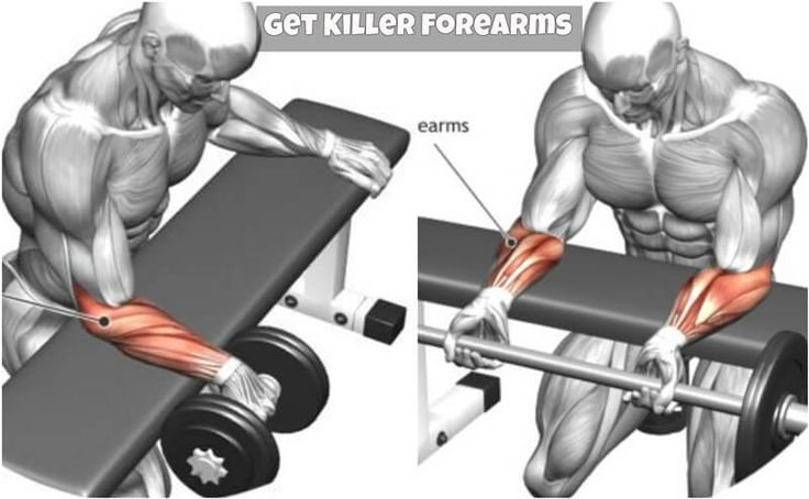 Getting big forearms is a long journey. To get big killer forearms, you must thrive to work them and have the discipline to work them out often. Big forearms can sometimes be a blessing, but