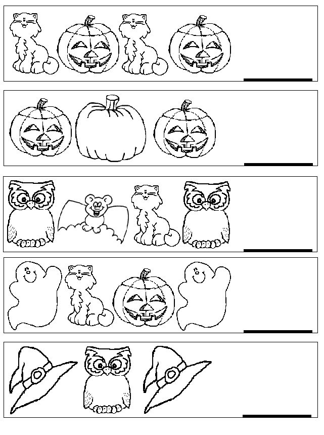 Patrones, A child and Halloween on Pinterest - halloween decoration printouts