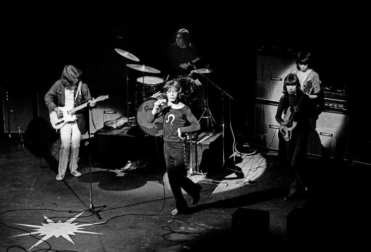 The Rolling Stones at Saville Theater, 1970. Barrie Wentzell.