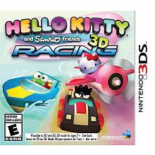 Hello Kitty and Sanrio Friends 3D Racing for Nintendo 3DS