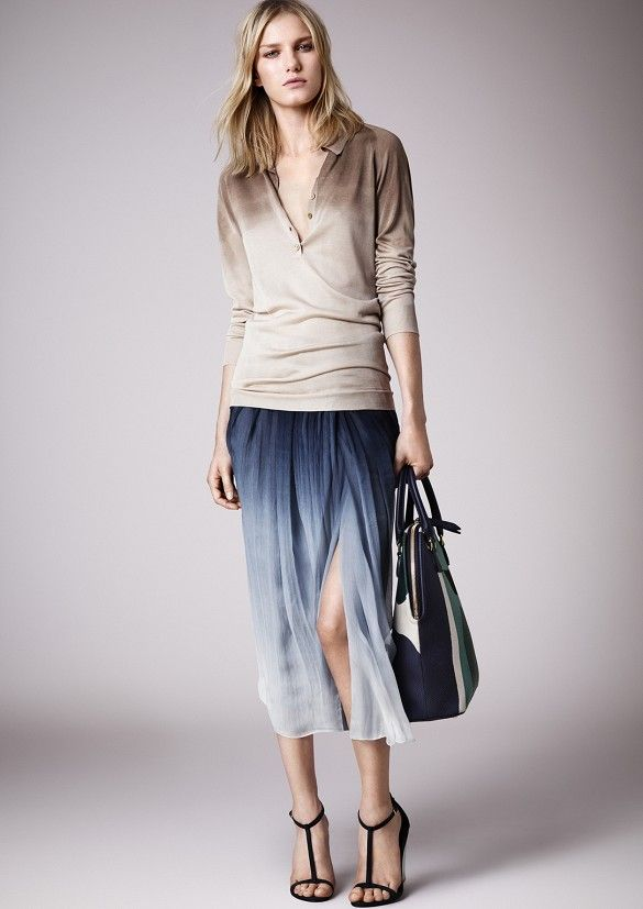 13 Burberry Prorsum-Inspired Ways To Style Your Pencil Skirt via @Who What Wear