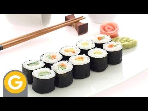 oriental y tal- haciendo sushi - making sushi_clip2.avi - YouTube