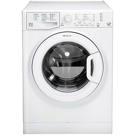 Buy Hotpoint WMJLL742P Freestanding Washing Machine, 7kg Load, A   Energy Rating, 1400rpm Spin, White Online at johnlewis.com