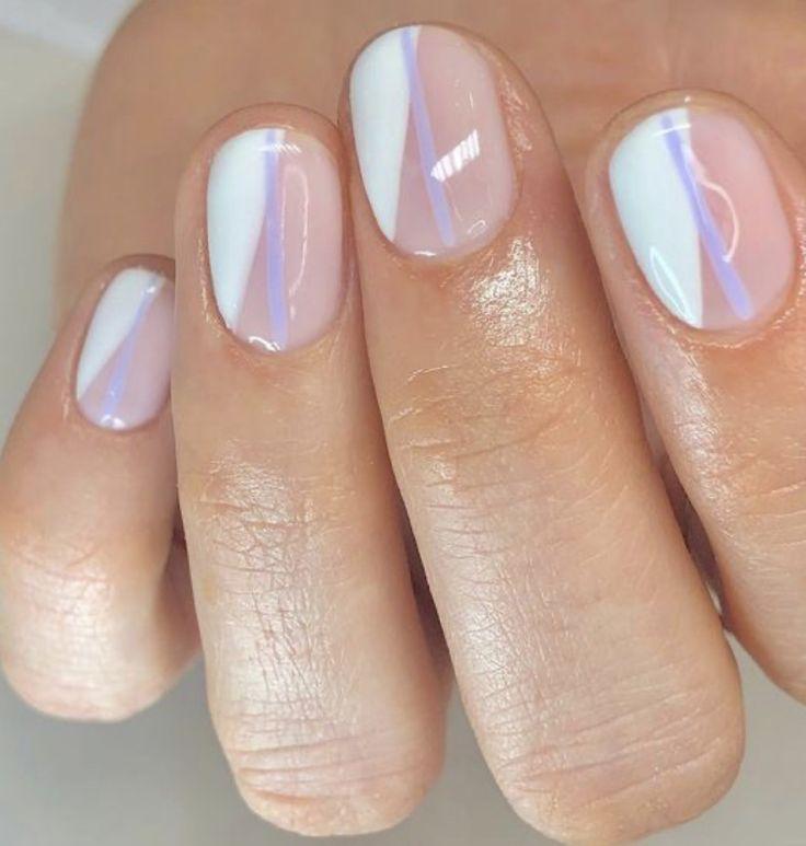 pinterest: makemwhyo | Minimalist nails, Swag nails