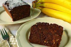 Csokis-diós banánkenyér (paleo)