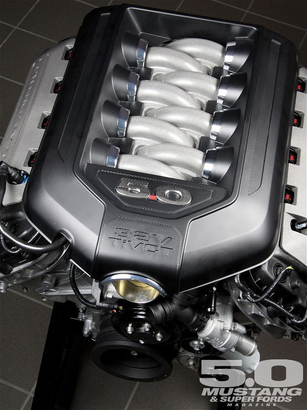 2011 Ford Mustang GT 5.0 Coyote Engine Photo & Image Gallery