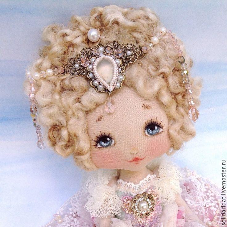 Купить Эмилия - винтаж, коллекционная кукла, ручная работа, оригинальный сувенир, лучший подарок девушке