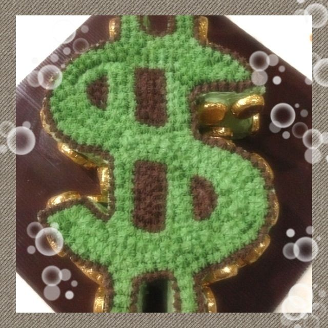 Dollar Sign Cake Cakes Pinterest Cakes Signs And