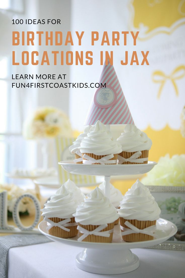 Find 100 Birthday Party Sites In Jacksonville Florida