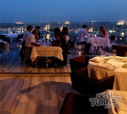 Top Restaurants of Istanbul Kiyi Restaurant