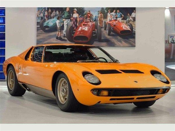 1969 Lamborghini Miura S Classic Exotic Lamborghini Miura