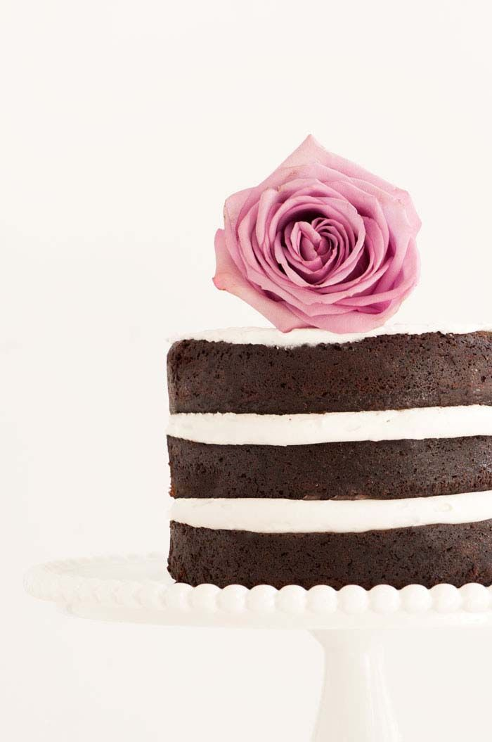 Naked Chocolate Cake | Fabulous, Whimsical, Cutey Baked
