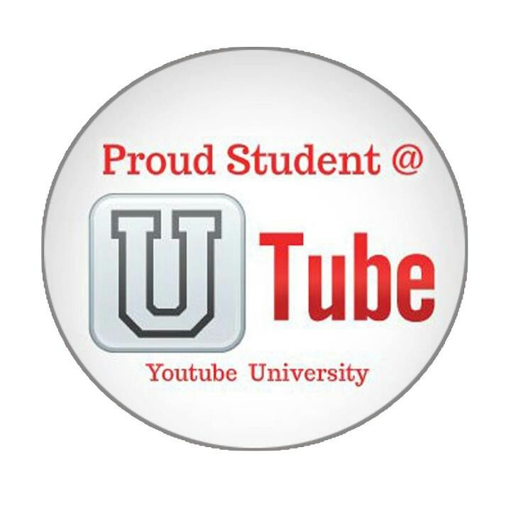 Youtube proud student badge: Youtubers, Students Badges