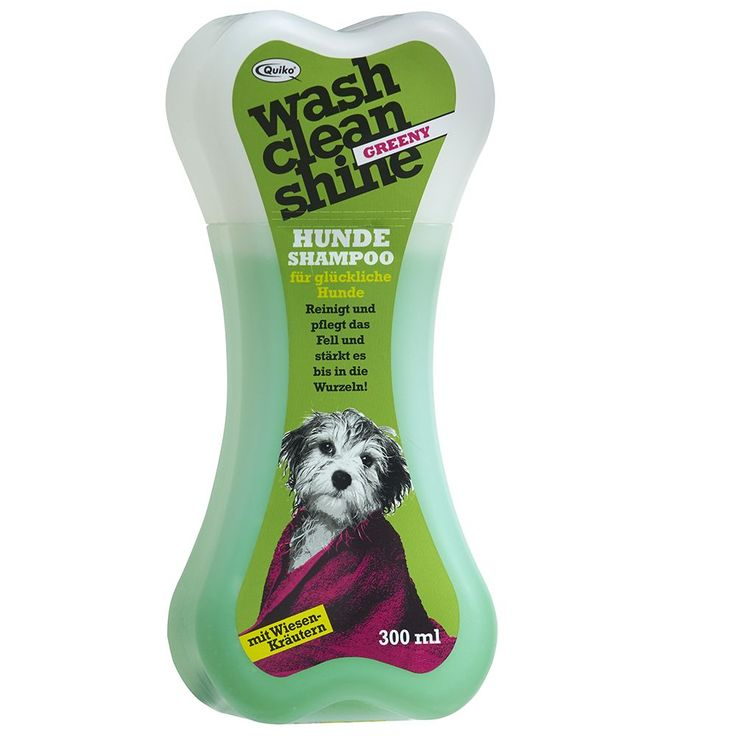 Animalerie  Quiko Wash Clean Shine Greeny Shampooing pour chien  2 x 300 mL