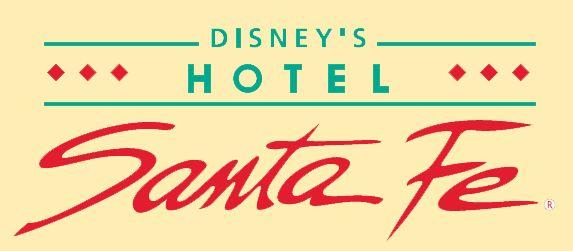 Logo Disney's Hotel Santa Fe. www.sejoursmagiques.fr