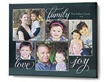Framed Horizontal Gallery of Three Pewter Ornament | Christmas Ornaments | Shutterfly