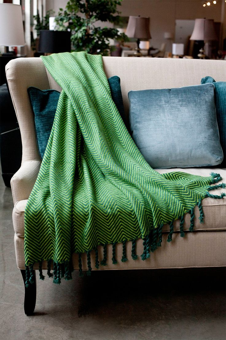Great green blanket.