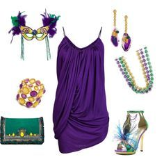 Mardi Gras Party. Mardi Gras Party Outfit