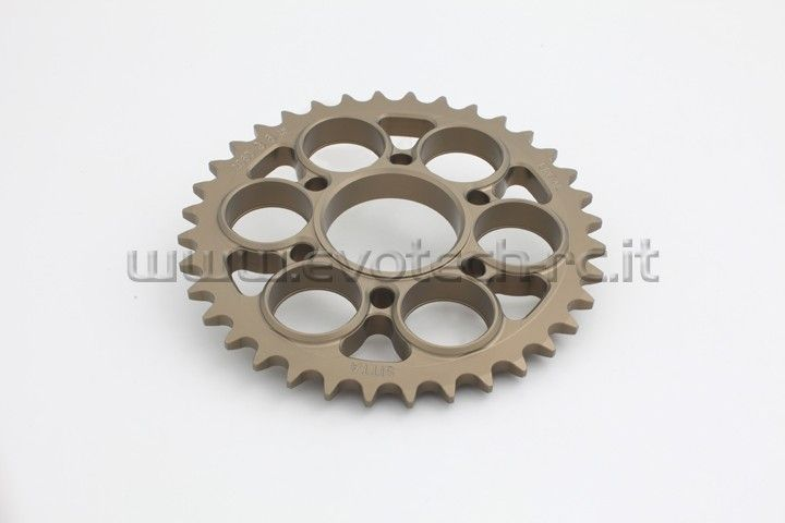 Ducati Sprocket hard surface 520 thread 34-42 teeth http://www.evotech-rc.it/prodotto/13225/corona-ducati-panigale-1199-r-s-abs-34-42-denti-passo-520#ad-image-0