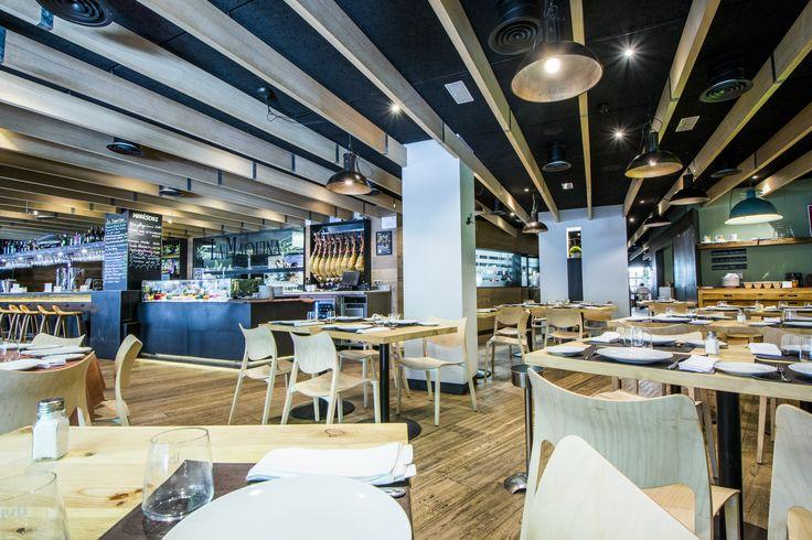 Salón del restaurante de La Máquina de Chamberí.