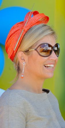 Queen Maxima in Fabienne Delvigne Calot Hat, Nov 2, 2011 | The Royal Hats Blog...Posted on 10-30-13 by HatQueen