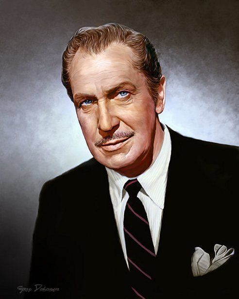 Vincent Price by Greg Dubuque