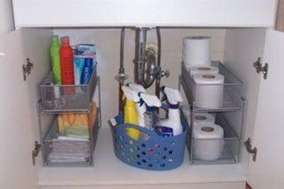 about bathroom cabinet organizers on pinterest bathroom storage