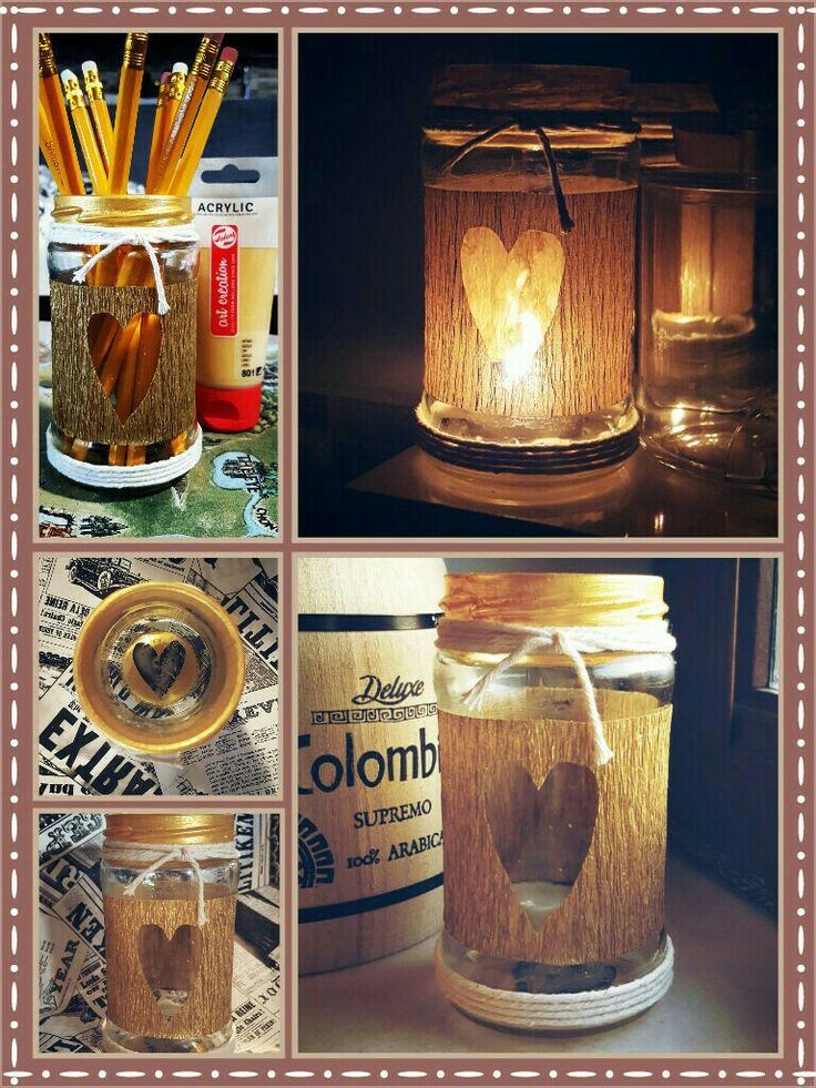 My DIY Decorative jar