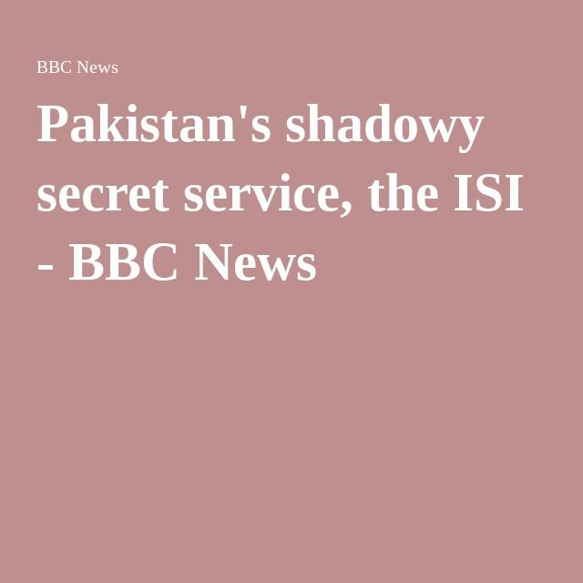 is Manifort  an insider .........?former clients?...........Pakistan's shadowy secret service, the ISI - BBC News