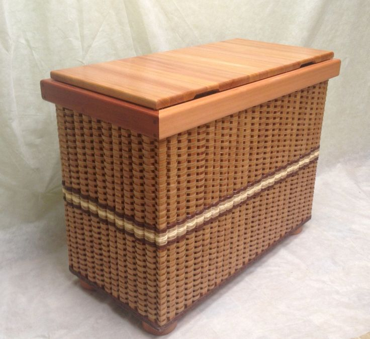 Tall blanket chest