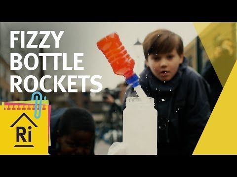 Science for kids - How to make fizzy bottle rockets - ExpeRimental #16 - YouTube