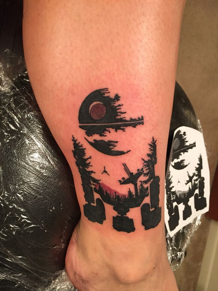 Star Wars R2-D2 tattoo!