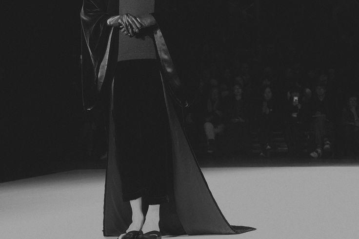 Yohji Yamamoto F/W 2015-16  Federica Fioravanti for Grey Magazine