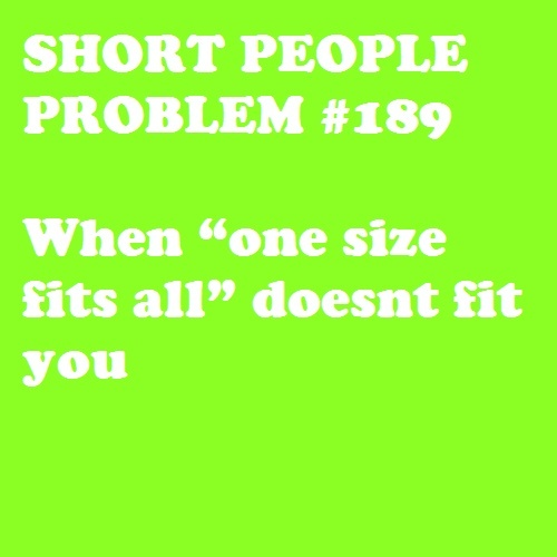 Short People Problem #189: Lies...theyre ALL lies!