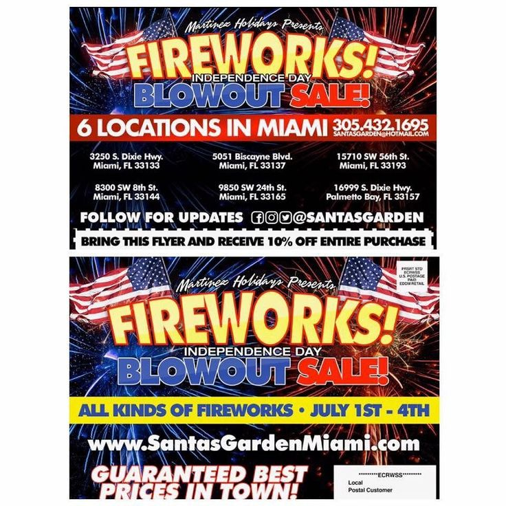 We present to you independence day blowout sale locations on at http://ift.tt/2eHpxhE #miami #fireworks #july4th #kids #family #local #event #celebratinglife #fun #santasgarden We present to you independence day blowout sale locations on at http://ift.tt/2eHpxhE #miami #fireworks #july4th #kids #family #local #event #celebratinglife #fun #santasgarden