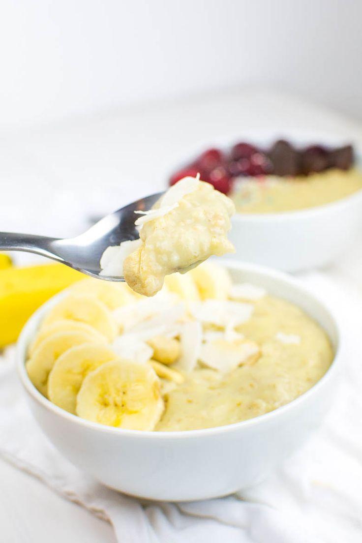 Vanillepudding Hafer: vegan und super cremig   – Frühstücks Ideen