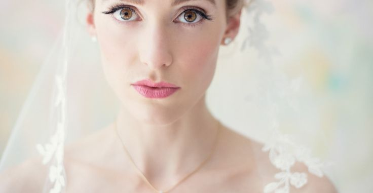 Classic New England Beach Club Wedding  Soft bridal makeup look