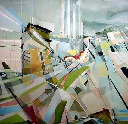 Painting by Dimitri Kozyrev - Tuscon AZ